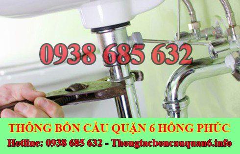 Thợ sửa bồn rửa chén bát Quận 6 tại nhà giá rẻ 0938685632