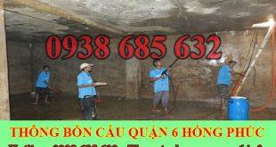 Bảng giá vệ sinh bể chứa nước ngầm Quận 6 giá rẻ 0903737957